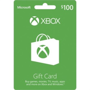Gift Card Microsoft Xbox One R$100