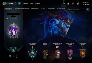 Conta League Of Legends Platina (All champ e diversas skins)