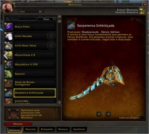 CONTA WOW + SHADOWLANDS + 4 PERSONAGENS 50 E OUTROS.