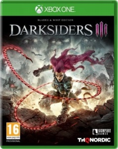 DARKSIDERS III - BLADES & WHIP EDITION XBOX ONE MIDIA DIG