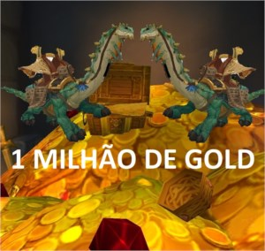 1m gold, 1 milhão gold wow, 1kk, azralon, horda