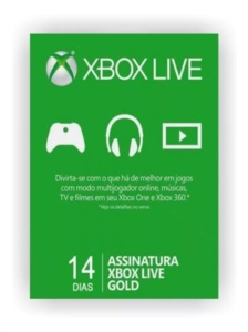 Xbox Live Game Pass - 14 Dias