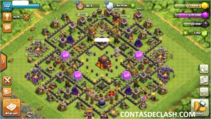 CLASH OF CLANS CV 10 LVL 131