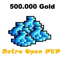 500.000 Gold  - Tibia  - Retro Open PvP