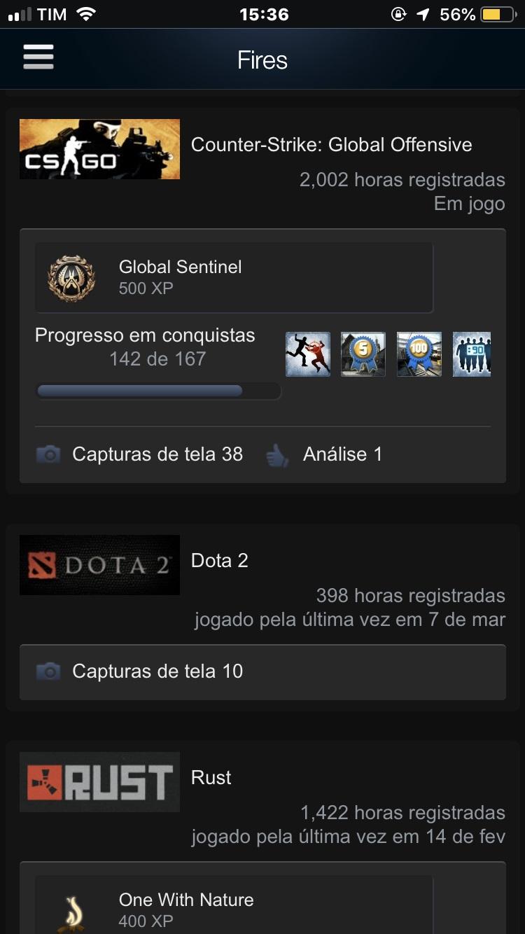 Counter Strike - Conta Steam - DFG