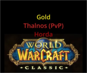 Gold Wow Classic Thalnos