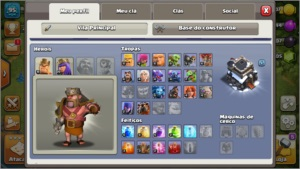 Clash of Clans conta Cv9 full 1000gemaa