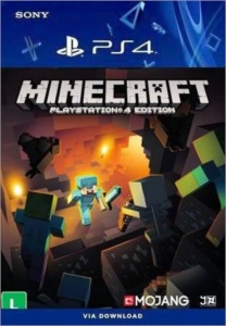 Minecraft Playstation PS4 Conta Principal