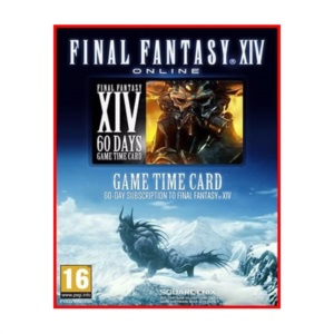 Game Card 60 Dias Final Fantasy 14 Xiv - US