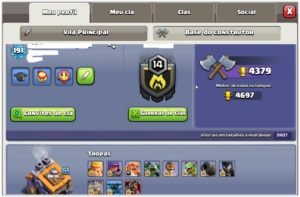CLASH OF CLANS - CV 12 MAXIMIZADO