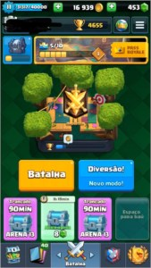 Conta nv 11 Clash Royale