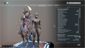 Conta Warframe MR26  +4000 1040 Logins - Horas 44000 Pls