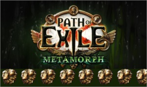 Exalted Orb - Path of Exile - Liga Metamorph