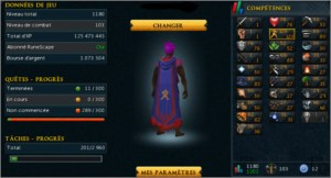 Runescape3 Account 120 AGILITY