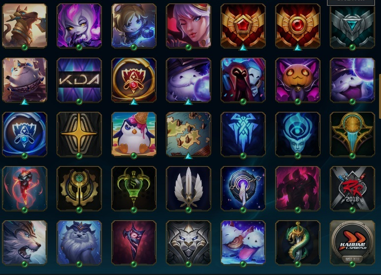 Conta League of Legends lol lvl 314 +190skins