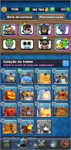 Conta Clash Royale 69 cartas Full lv 13 BARATO