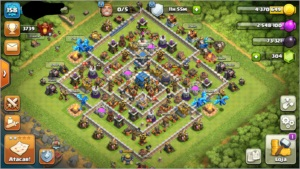 Conta Clash of clan