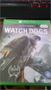 XBOX-ONE - Watch Dogs [ LACRADO ]