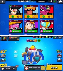 conta brawl star