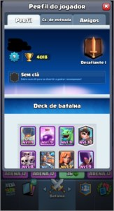 Rei nv 9 / arena 12 / clash royale