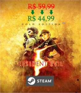 Resident Evil 5: Gold Edition STEAM KEY