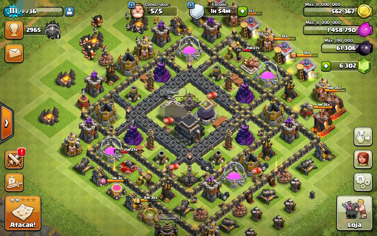Cv 9 Full Clash Of Clans Dfg