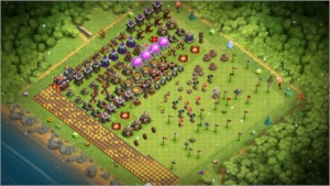 Vila em Clash of Clans CV 10 FULL + 17.000 GEMAS