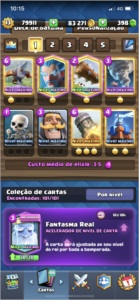 CLASH ROYALE XP 13 VÁRIAS CARTAS FULL! BARATO!