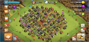Conta Clash of Clans cv 10 full
