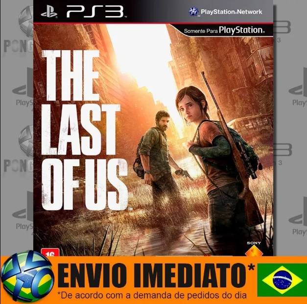 The Last Of Us Ps3 Mídia Digital Psn Dublado Em Português.
