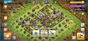 clash of clans cv11 barato