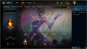 Conta League of Legends, Gold 4 - (Skin Ultimate)