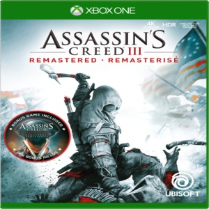 ASSASSIN'S CREED III REMASTERED XBOX ONE MIDIA DIGITAL