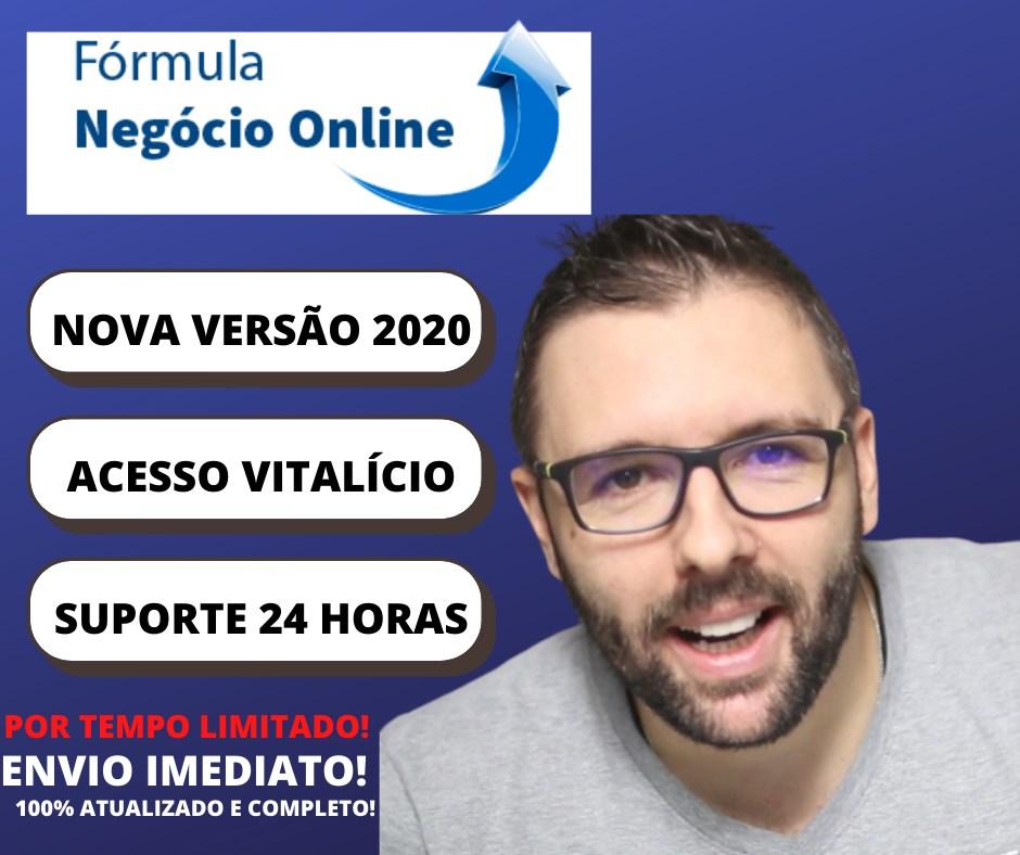 formula negócio online quanto custa