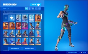 CONTA FORTNITE PC - WONDER, MINTY, BORDERLAN / + 180 SKINS