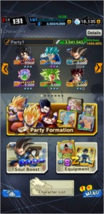 Conta Dragon Ball Legends Gemada