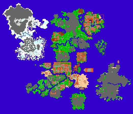 Mapa Ot Server Tibia Global 8 6 Para Criacao De Ot Server Dfg
