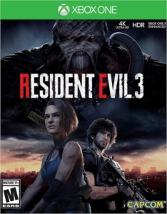 RESIDENT EVIL 3 XBOX ONE DIGITAL ONLINE