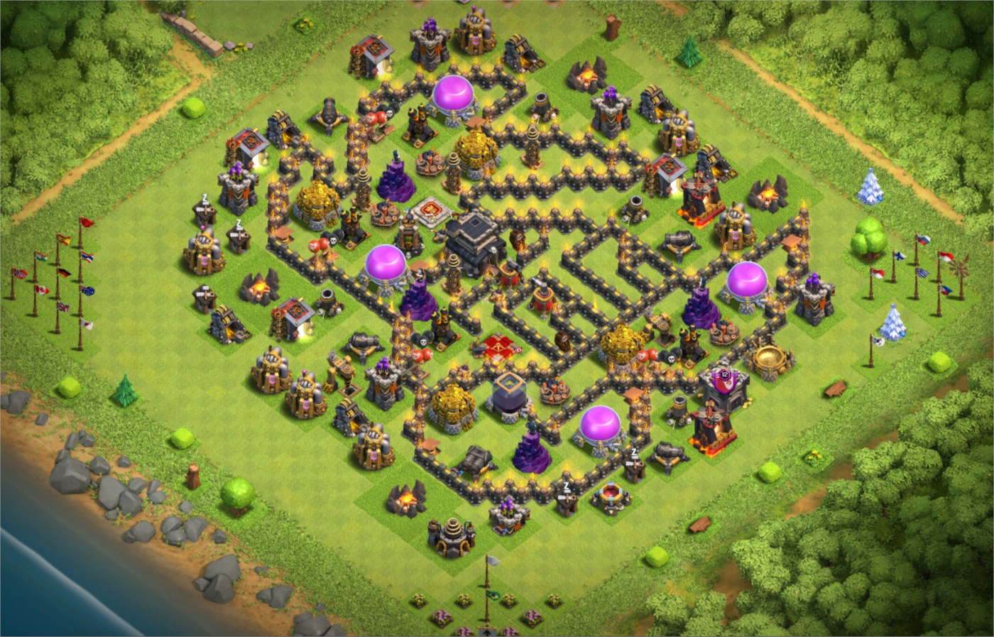 clash of clans cv09 barato