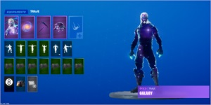 Vendo conta de Fortnite Battle Royale, com a Galaxy skin