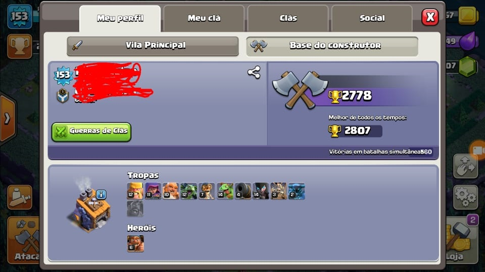 CV12 Clash Of Clans + CV10 de Brinde