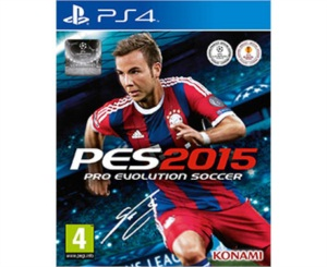 Pro Evolution Soccer 2015 - PS4 Playstation 4