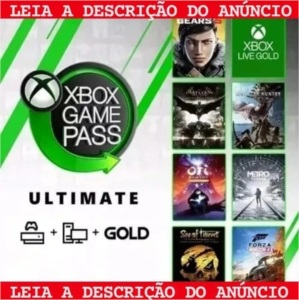 Xbox Live Gold +Xbox Game Pass 12 Meses