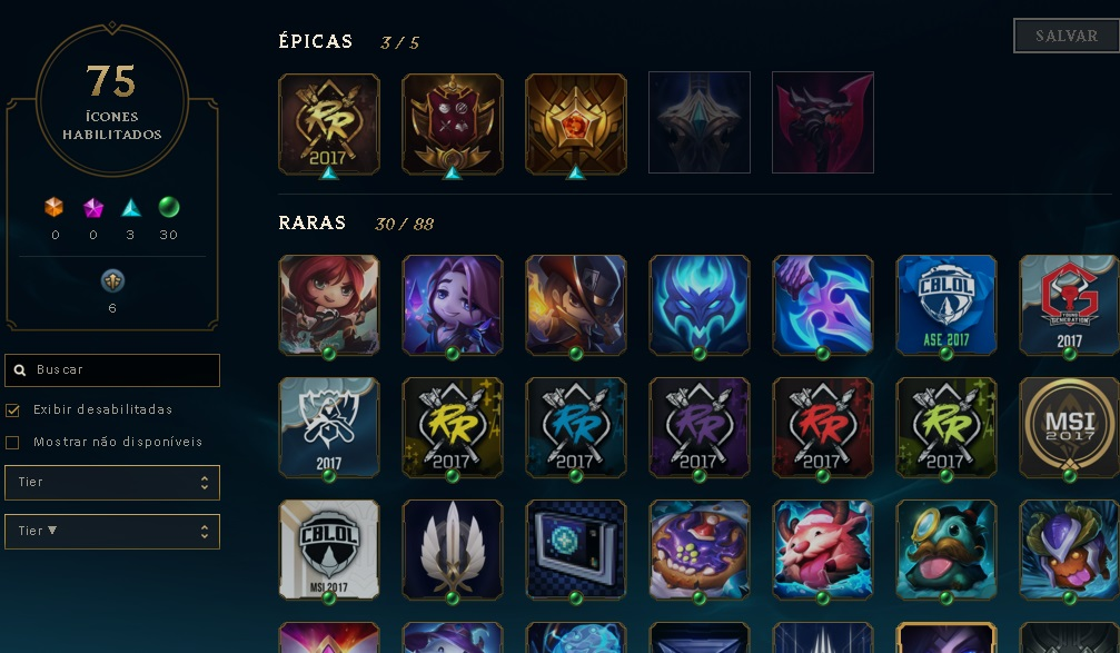VENDO CONTA - LEAGUE OF LEGENDS,  BARATA  COM M7