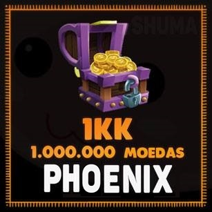 1KK (1.000.000) MOEDAS PERFECT WORLD - PHOENIX