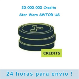 20.000.000 Creditos - Star Wars SWTOR