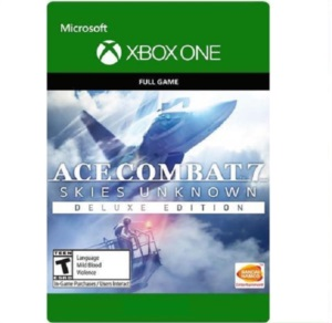 ACE COMBAT 7 SKIES UNKNOWN DELUXE Xbox One Midia Digital