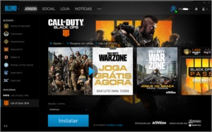 Conta Blizzard com call of duty BO4