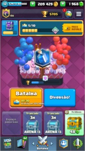 Conta Clash Royale nv 12 TOP