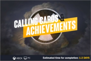 NUKE Calling Cards COD COLD WAR